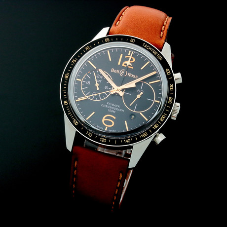 Bell & Ross Flyback Chronograph Automatic // Limited Edition // BR126 // Unworn