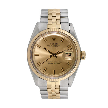 Rolex Datejust Automatic // 1601 //c. 1960s //  Pre-Owned