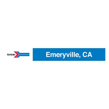 Emeryville, California // Amtrak Classic