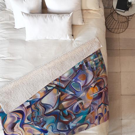 Last Night // Fleece Throw Blanket