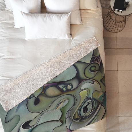 Lucid // Fleece Throw Blanket