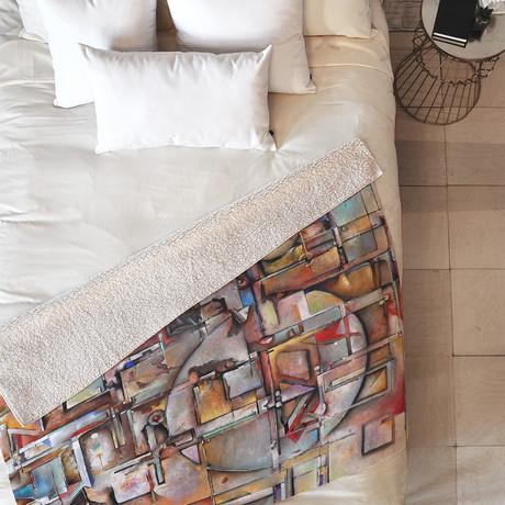 Urban Decay // Fleece Throw Blanket