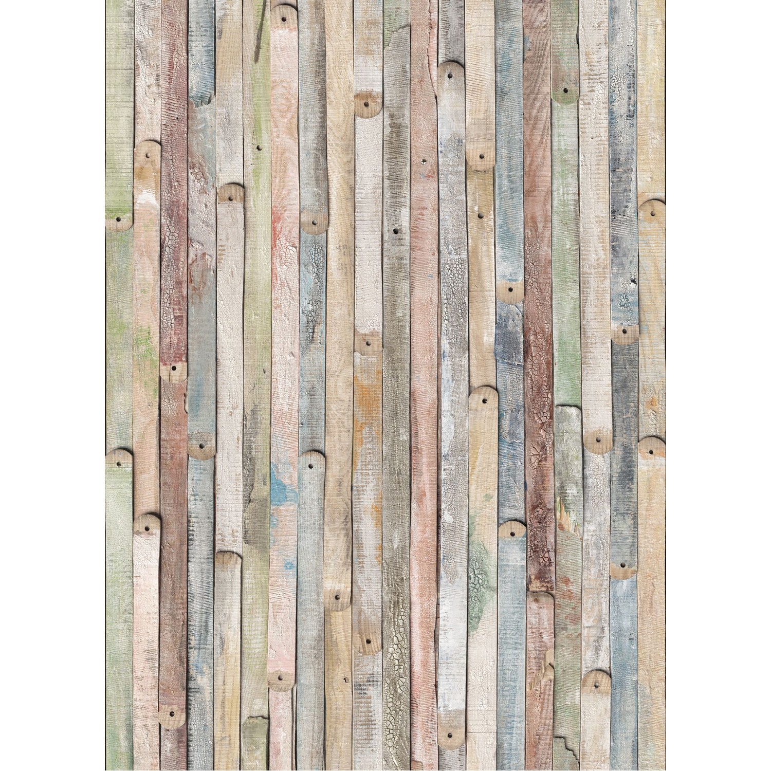 Vintage wood wall mural brewster home fashions touch for Brewster wallcovering wood panels mural