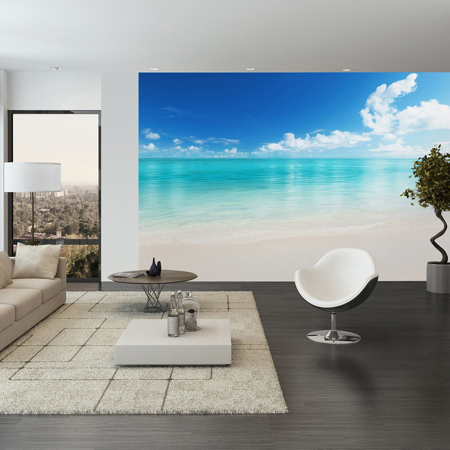 The Beach Wall Mural Clearance Wall Art Touch of Modern