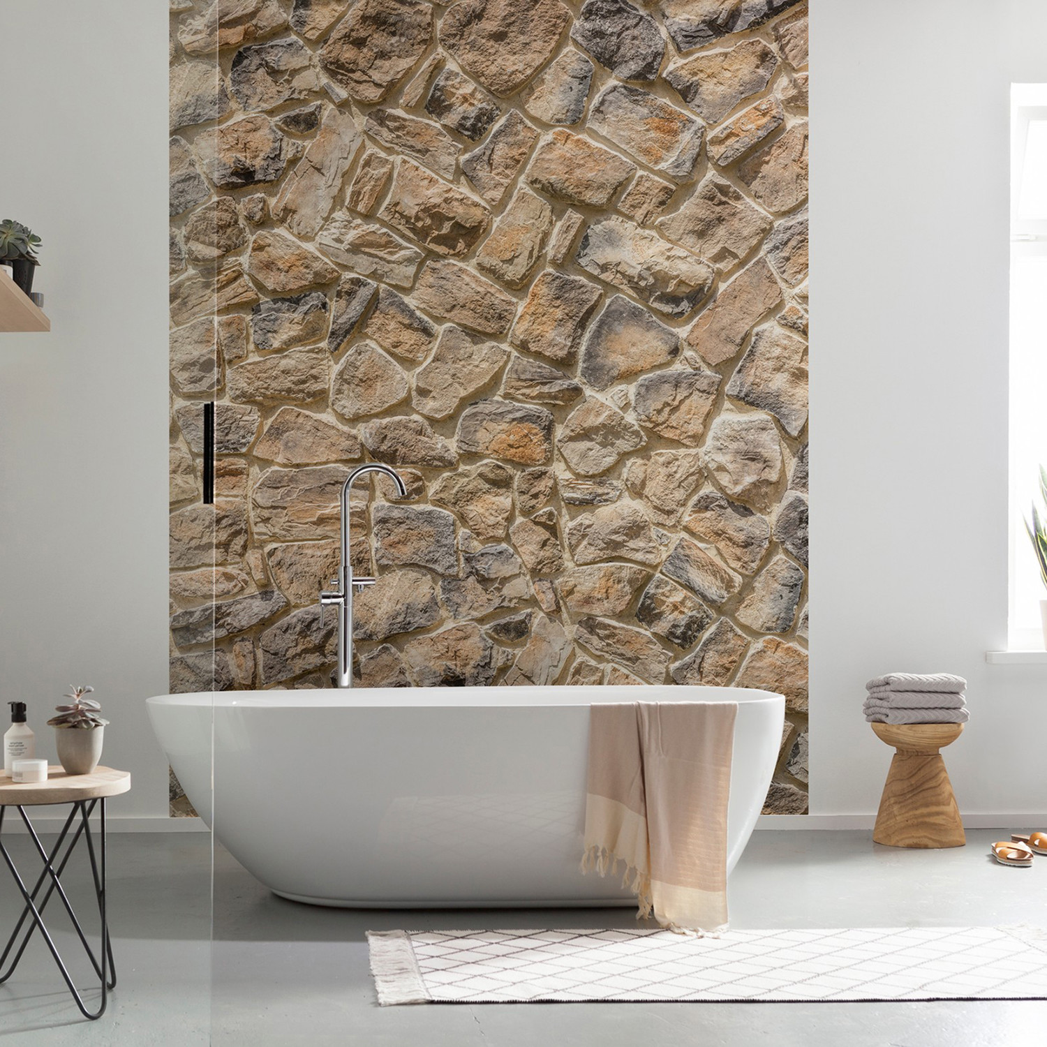 Muro wall mural brewster home fashions touch of modern for Brewster wall mural
