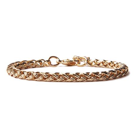 Gold Chain Bracelet for Men