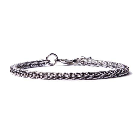 Silver Chain Bracelet For Men