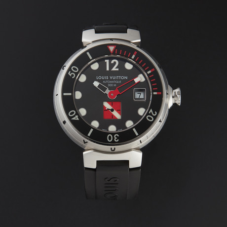 Louis Vuitton Tambour Diving Automatic // Q103A // Pre-Owned