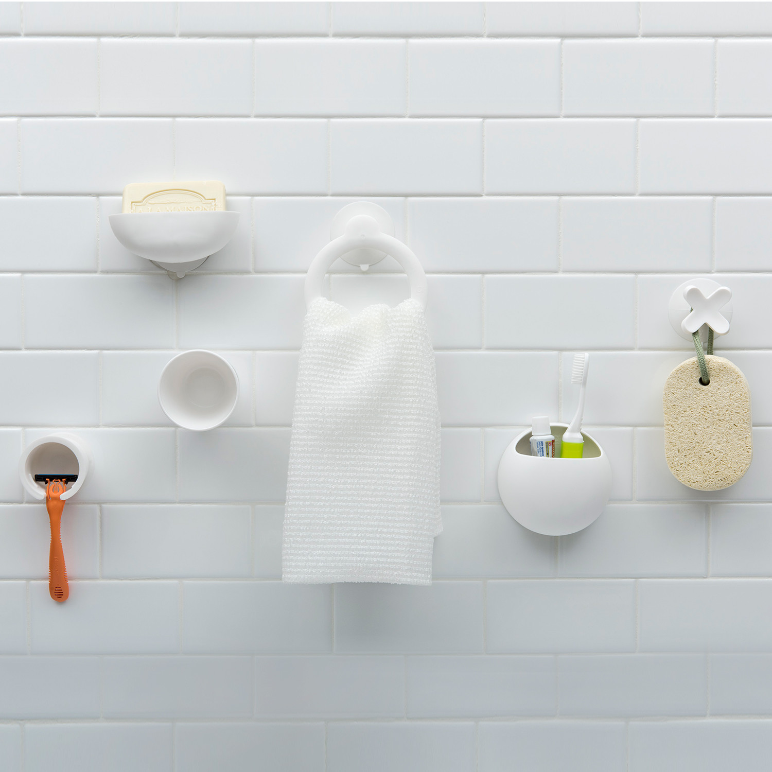 Shower Organization // Set of 6 - SanEi - Touch of Modern