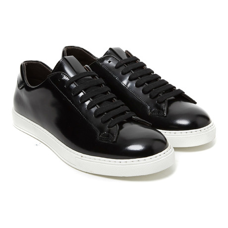 Patent Leather Sneaker // Black