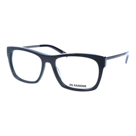 Unisex J4006 Optical Frames // Black + Dark Gunmetal