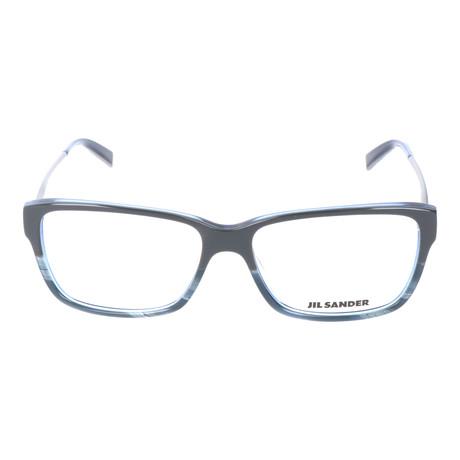 Unisex J4004 Optical Frames // Gray Blue Gradient + Light Gunmetal