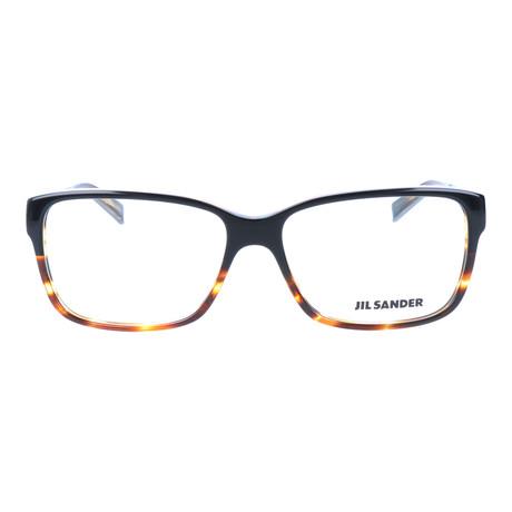 Unisex J4004 Optical Frames // Gray Olive Gradient + Light Gunmetal