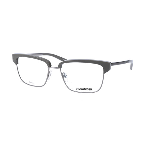 Unisex J2011 Optical Frames // Gunmetal + Gray