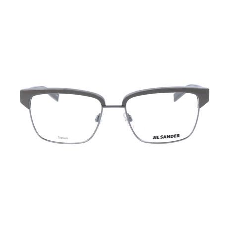 Unisex J2011 Optical Frames // Gunmetal + Gray