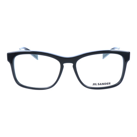 Unisex J4011 Optical Frames // Black + Palladium
