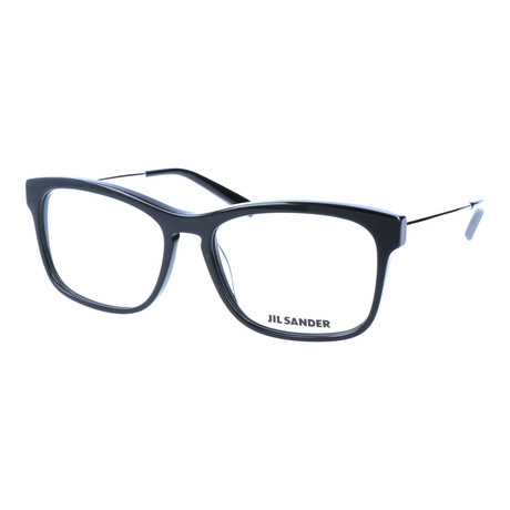 Unisex J4011 Optical Frames // Black + Palladium