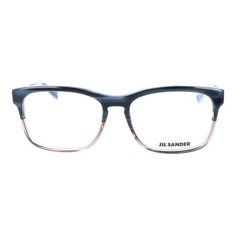 Unisex J4011 Optical Frames // Blue Gray Gradient + Gunmetal