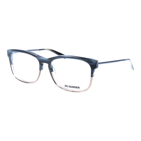 Unisex J4011 Optical Frames // Blue Gray Gradient + Gunmetal