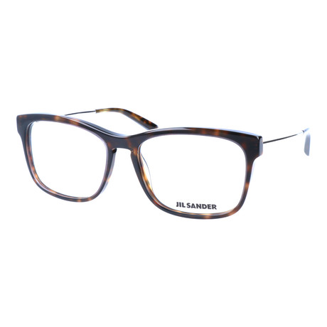 Unisex J4011 Optical Frames // Havana + Palladium
