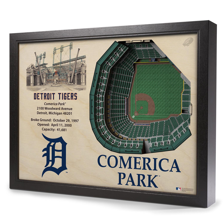 Comerica Park Detroit Michigan: Detroit Tigers // Comerica Park