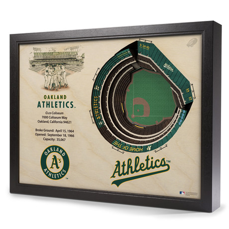 Oakland Athletics // O.Co Coliseum