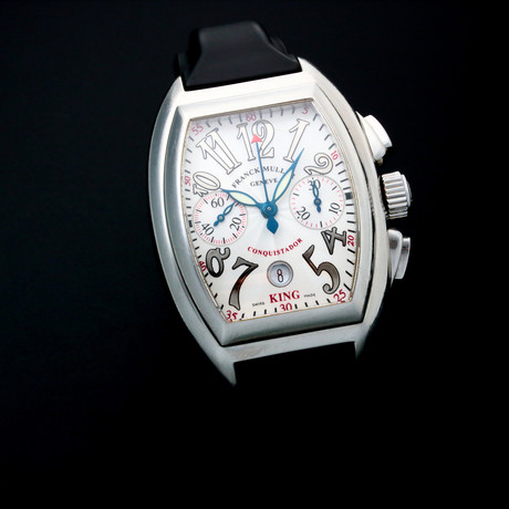 Franck Muller Conquistador Chronograph Automatic // 8002CCKING // Pre-Owned