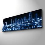 Blue City Reflection