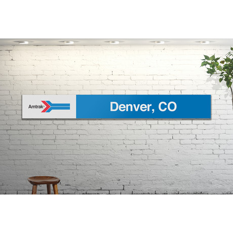 Denver, Colorado // Amtrak Classic