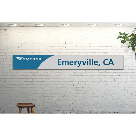 Emeryville, California // Amtrak Modern