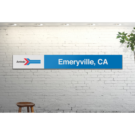Emeryville, California // Amtrak Classic