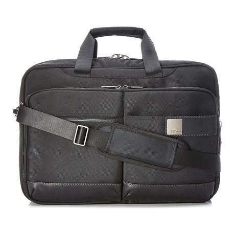 "Power Pack Laptop Bag // 18"" // Black"