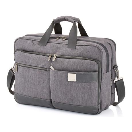 "Power Pack Laptop Bag // 18"" // Grey"
