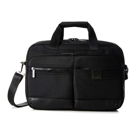 "Power Pack Laptop Bag // 15.5"" // Black"