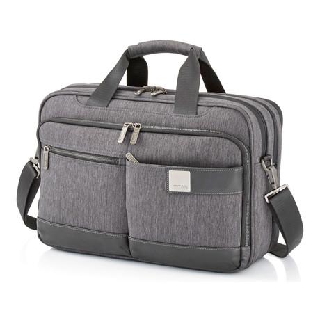 "Power Pack Laptop Bag // 15.5"" // Grey"