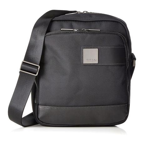 """Power Pack Shoulder Bag // 10"""" // Black"""