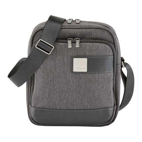 """Power Pack Shoulder Bag // 10"""" // Grey"""