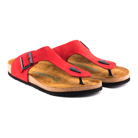 Maui Sandal // Red (Euro: 36)