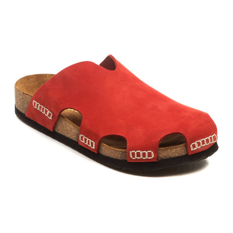 Theo Sandal // Red