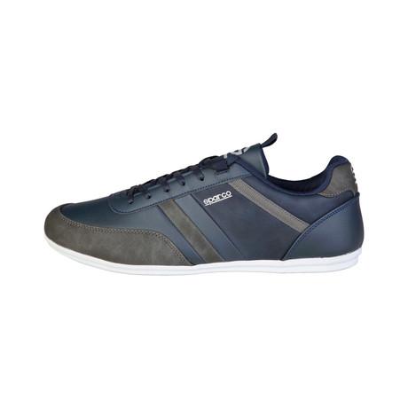 Wellington Low-Top Sneaker // Blue