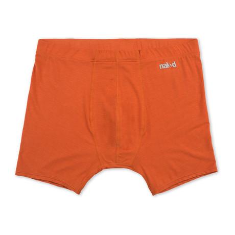 Luxury Micromodal Boxer Brief // Blood Orange