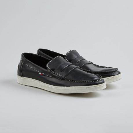 Jim Nee Penny Loafer Sneaker // Black