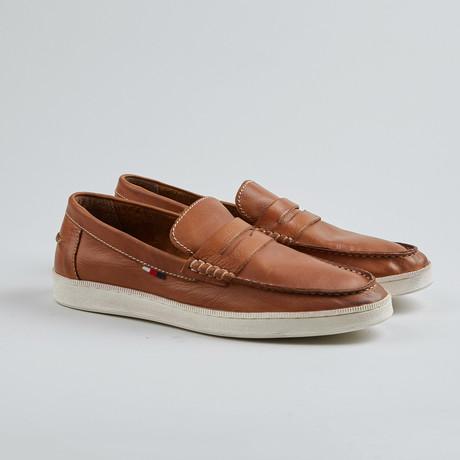Jim Nee Penny Loafer Sneaker // Cognac