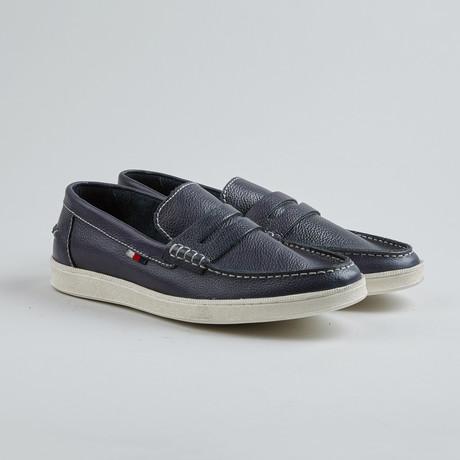 Jim Nee Penny Loafer Sneaker // Navy