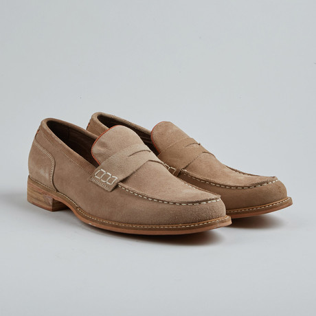 Village Six Penny Loafer // Sand (Euro: 40)