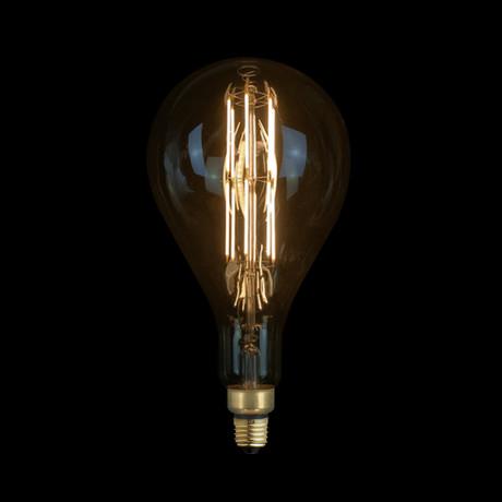 e27 6w waterdrop led edison bulb