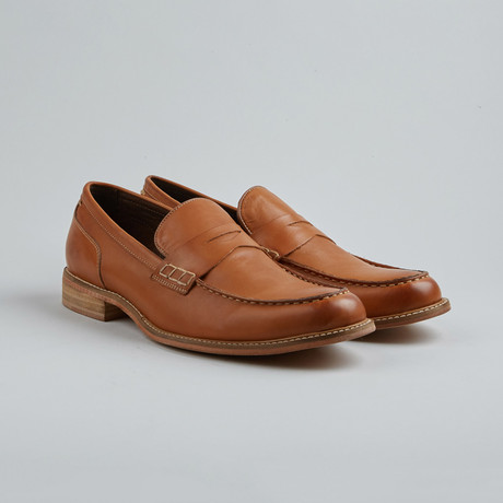 Village Six Penny Loafer // Cognac