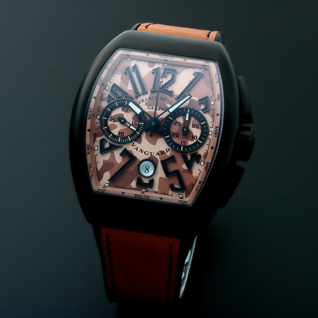 Franck Muller Vanguard Chronograph Automatic // V45CCDTTTNRMCSE // Unworn