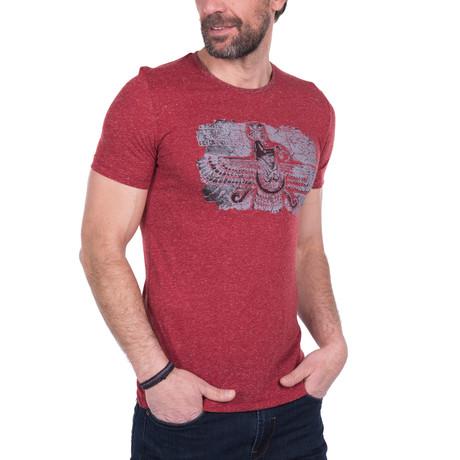 Balthasar T-Shirt // Dark Red