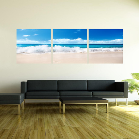 "Blue Skies Ahead (20""H x 60""W x 1""D)"